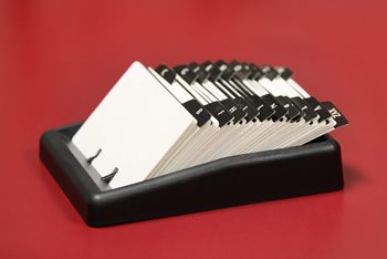 Protecting Cards with a Business Card Holder