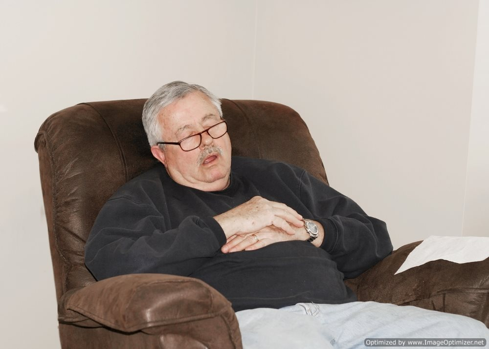 Sleeping Grandpa Mistaken for Corpse