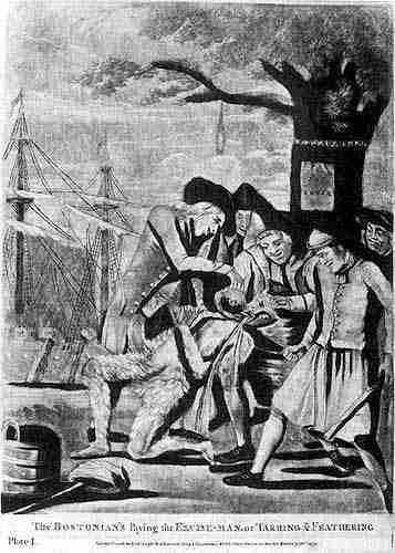 the influence of the boston tea party on americas independence from great britain The american revolutionary war destroying a shipment of tea in boston harbor britain responded by closing boston harbor with great influence in.