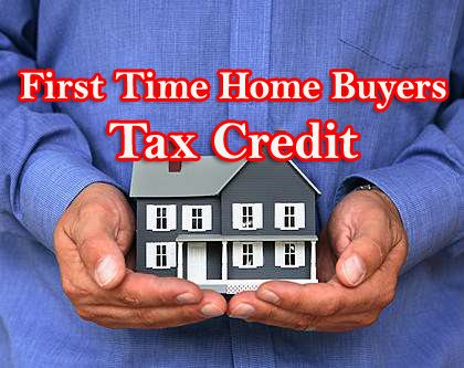 Tax Credit For First Time Home Buyers