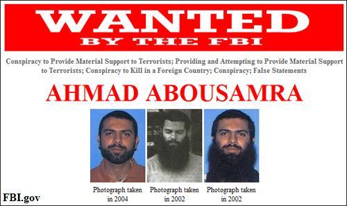 $50,000 Reward for Help in Locating Ahmad Abousamra