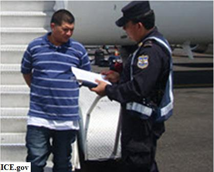 Man Deported for Murder, Extortion, and Organized Crime