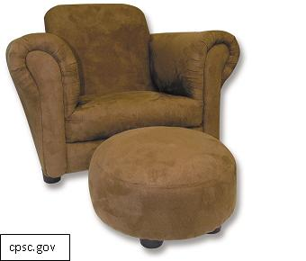 Trend Lab Issues Recall for Children's Upholstered Chairs