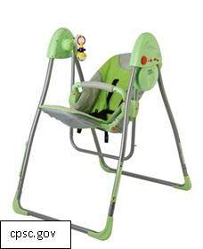 Infant Swing Recalled for Strangulation Hazard