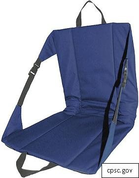 Columbus Camping Chairs Recalled for Mold Presence