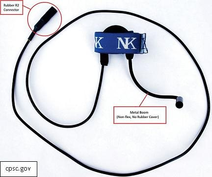 Nielsen-Kellerman Microphones Recalled for Shock Risk