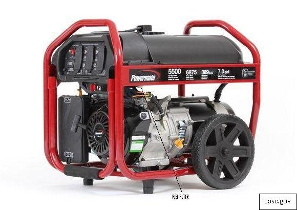 Powermate Generators Recalled for Fire Hazard
