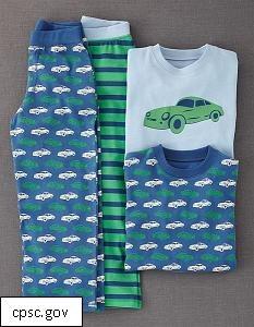 Kid's Pajamas Recalled for Violating Flammability Standards