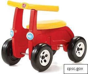 Step2 Recalls Children's Riding Toy for Fall Hazard