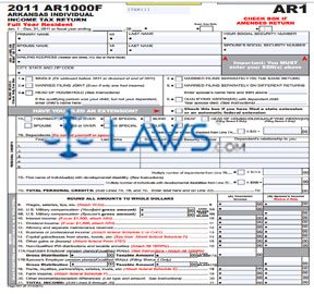 Form AR1000F Individual Income Tax Return