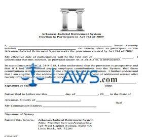 Judicial Retirement System