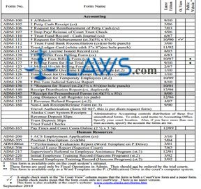 Statewide Forms Catalog