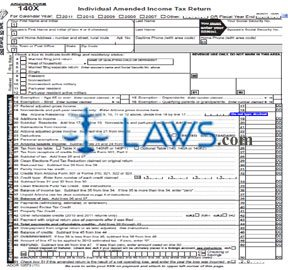 Form 140X Individual Amended Income Tax Return