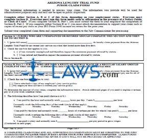 Juror Claim Form