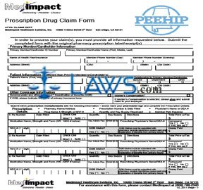 MedImpact Prescription Drug Claim Form