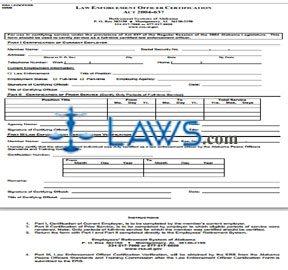 Law Enforcement Officer Certification
