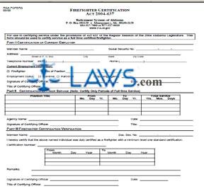 Firefighter Certification