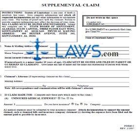 Supplemental Claim Form