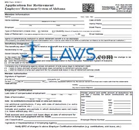 Retirement Application Packet for Non-State Employees Part I