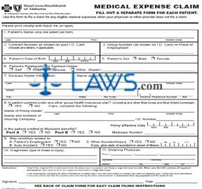 CL-438 Medical Expense Claim