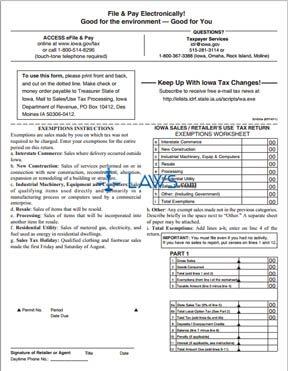 Form 32022 Return