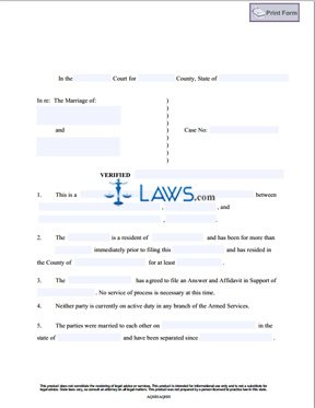Affidavit by a third party