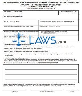 Form 3605 Application for Recognition of Exemption with Instructions