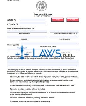 Form RD-1061 Power of Attorney