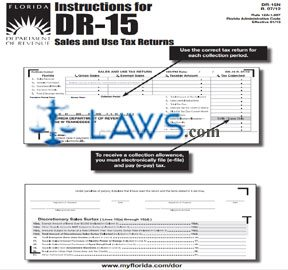 Form DR-15N Instructions for DR-15 Sales and Use Tax Returns
