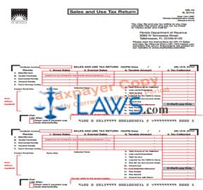 Form DR-15 Sales and Use Tax Return