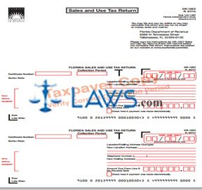 Form DR-15EZ Sales and Use Tax Return
