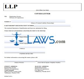 Form Statement of Qualification for Florida or Foreign LLP