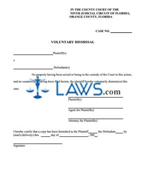 Voluntary Dismissal
