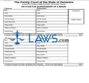 Form 126 Petition for Guardianship of a Minor