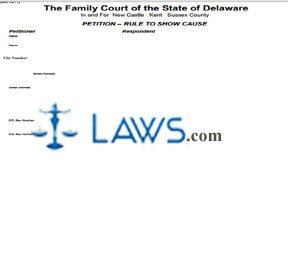 Form 321 - Delaware Forms -   Laws.com