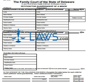 Petition For Guardianship of a Minor