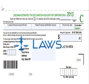 Form CIFT-620ES Estimated Tax Voucher for Corporations