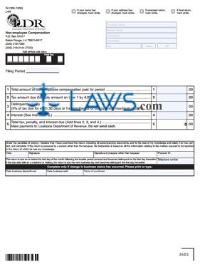 Form R-1309 Non-employee Compensation