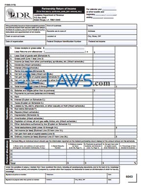 Form IT-565 Partnership Return of Income and Form IT-565B Apportionment