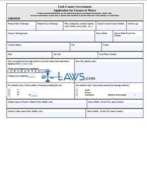 Form Application for License