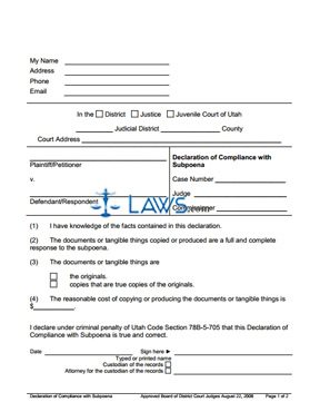 emancipation papers utah Utah emancipation forms  utah divorce forms form checklist for motion to waive divorce education requirements form checklist for motion to waive divorce education.