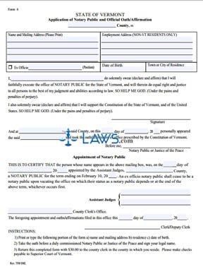 Notary Application