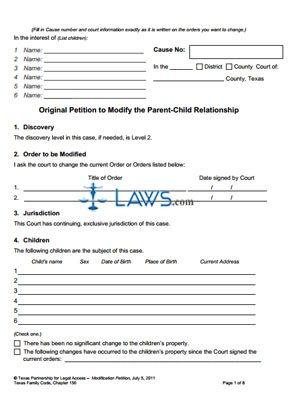 Form Modification Kit 2011