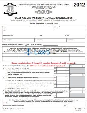 Form T-204R Annual Reconciliation