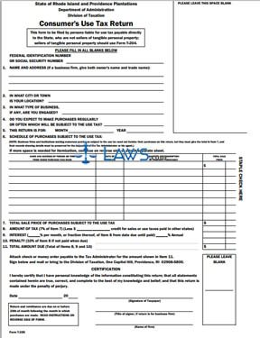 form t205 consumer use tax return sales tax forms. Black Bedroom Furniture Sets. Home Design Ideas