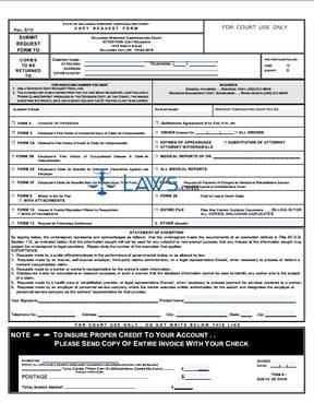 Copy Request Form. 3/10