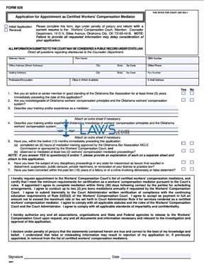 Mediator Application 06/07