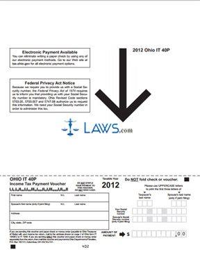Form IT 40P Income Tax Payment Voucher