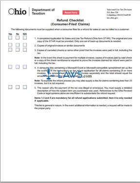 Consumer-Filed Refund Claims