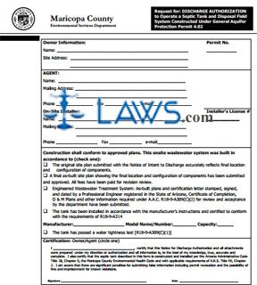 Request for Discharge Authorization
